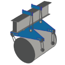 Material Handling/Lifting Devices Icon